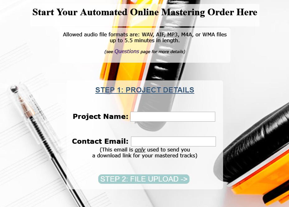 order mastering online