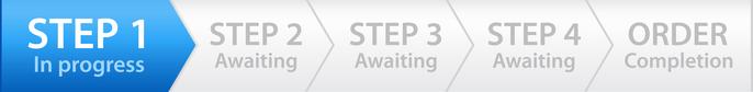 online mastering order steps